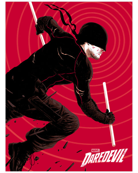 Marvel's Daredevil Print by Matthew Woodson