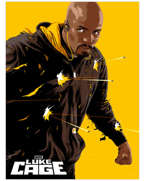 Marvel's Luke Cage Print by Matthew Woodson