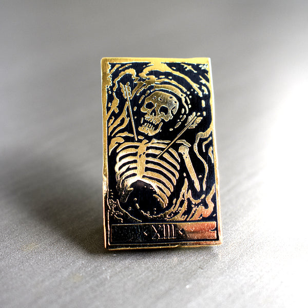 Death Pin by Becky Cloonan