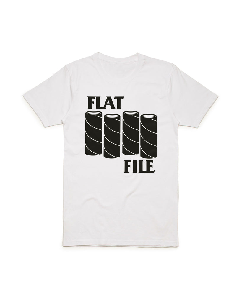 """Black Tube"" Flat File T-Shirt"