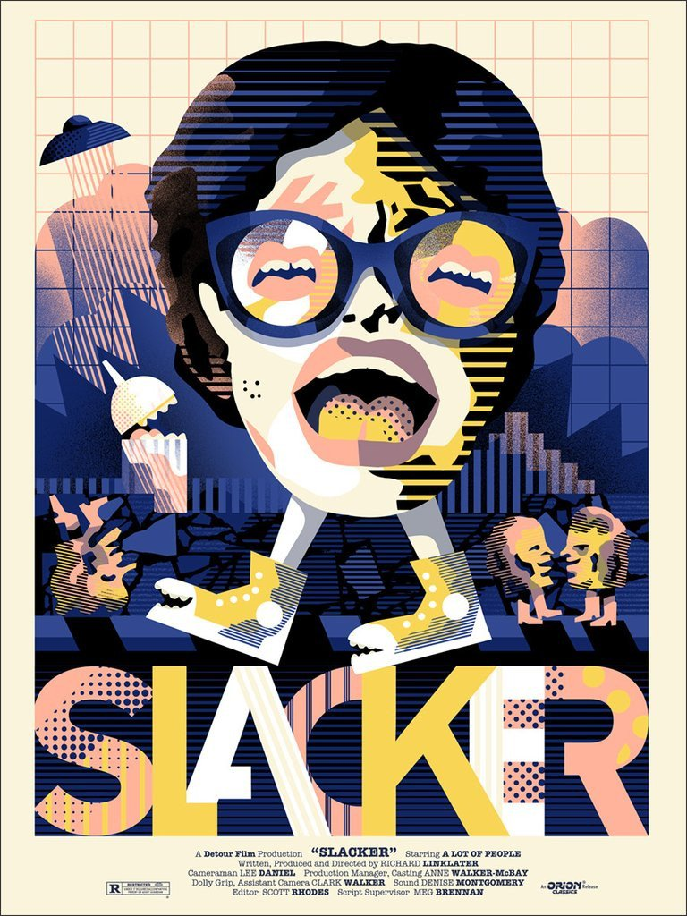 Slacker By We Buy Your Kids Poster