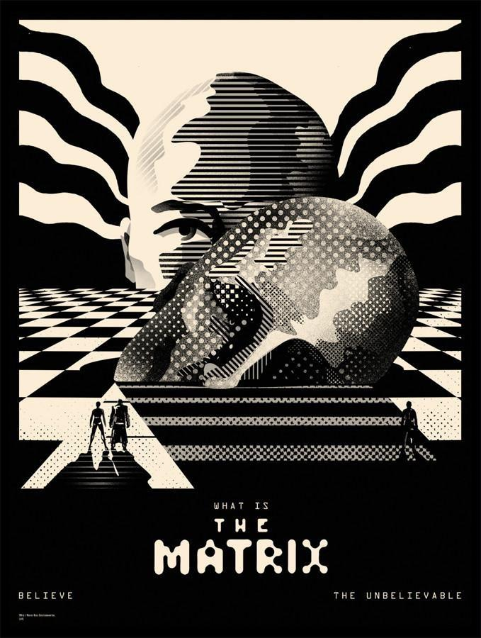 The Matrix By We Buy Your Kids Poster
