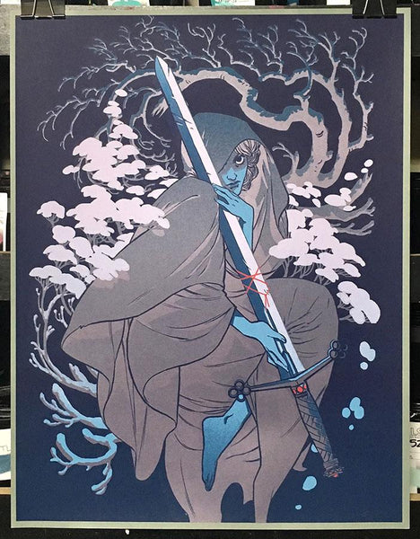 By Chance or Providence (Variant) Print by Becky Cloonan