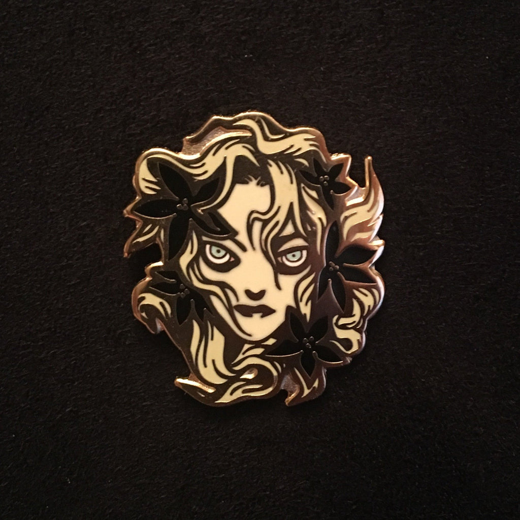 Ophelia Enamel Pins By Becky Cloonan Pin