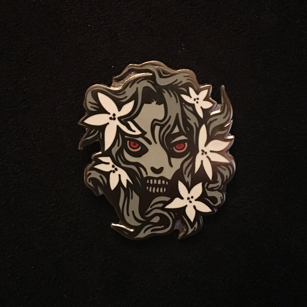 Ophelia Enamel Pins By Becky Cloonan The Un-Dead Pin