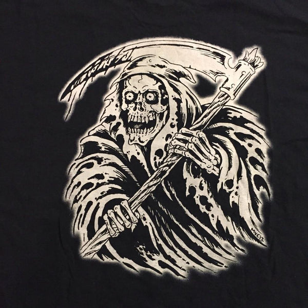 Reaper Long Sleeve T-Shirt by Matt Van Cura