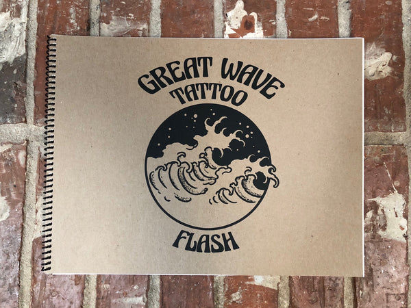 Great Wave Tattoo Flash Book