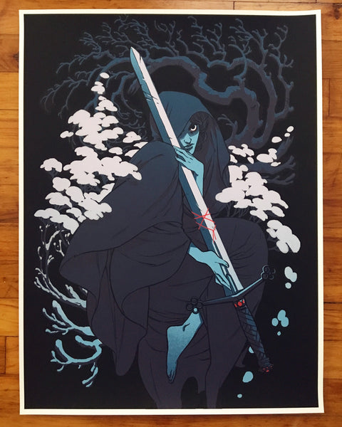 By Chance Or Providence By Becky Cloonan Poster