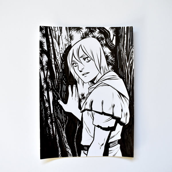 xii. THE SQUIRE. Original Artwork by Becky Cloonan