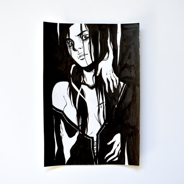 xiii. THE GHOST. Original Artwork by Becky Cloonan