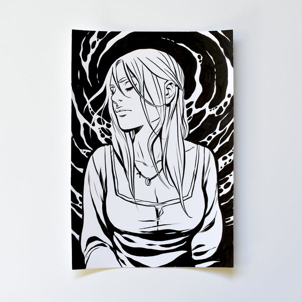 xxii. THE WIDOW. Original Artwork by Becky Cloonan
