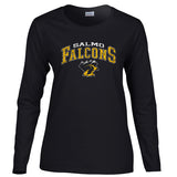 Gildan Long Sleeve Ladies T-Shirt (Salmo Secondary)