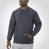 Russell Cotton Rich Fleece Crewneck
