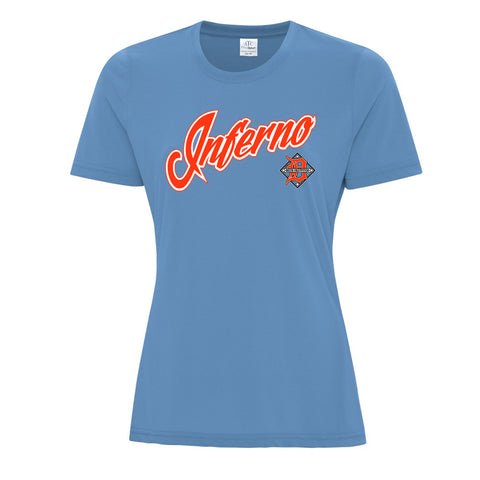 Ladie's ATC Short Sleeve T-Shirt (Delta Fastpitch)