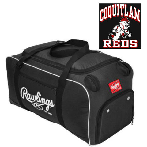 Covert Duffle Bag (Coquitlam Reds-PLAYER ONLY OPTIONAL)