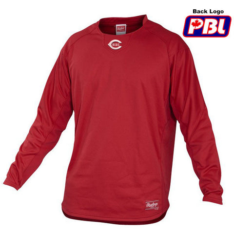 Dugout Fleece Pullover (Coquitlam Reds-PLAYER ONLY OPTIONAL)