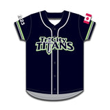 Sublimated Game Jersey U14A/U16A/U19A Divisions - Navy (Tri City Titans)