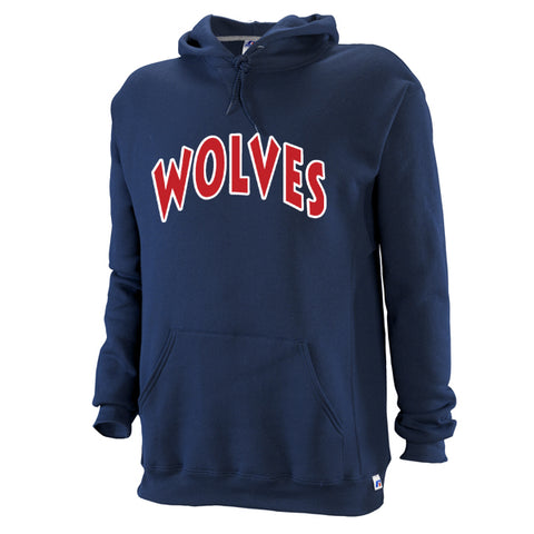 Russell Twill Hooded Pullover - Timberline Wolves