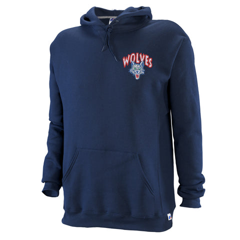 Russell Embroiderd Hooded Pullover - Timberline Wolves