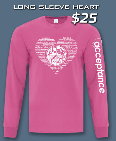 Long Sleeve Heart Shirt (Confederation Park)