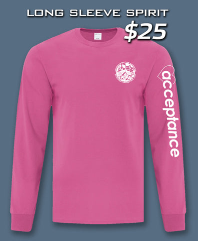 Long Sleeve Spirit Shirt (Confederation Park)