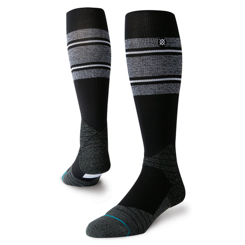 Stance Diamond Pro Stripe OTC Sock (Black/White)