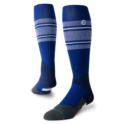 Stance Diamond Pro Stripe OTC Sock (Royal/White)