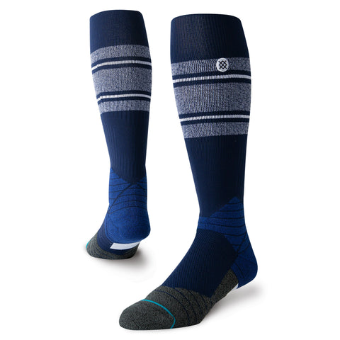 Stance Diamond Pro Stripe OTC Sock (Navy/White)