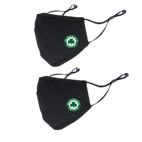 Face Mask: 2 Pack  (St.Pats)