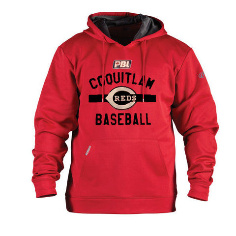 Rawlings Long Sleeve Hood (Coquitlam Reds-PLAYER ONLY MANDATORY)