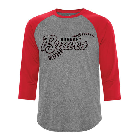 Baseball T-Shirt (Burnaby Minor Baseball)