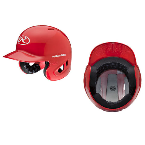 Rawlings RPR College Batting Helmet (Coquitlam Reds-PLAYER ONLY OPTIONAL)