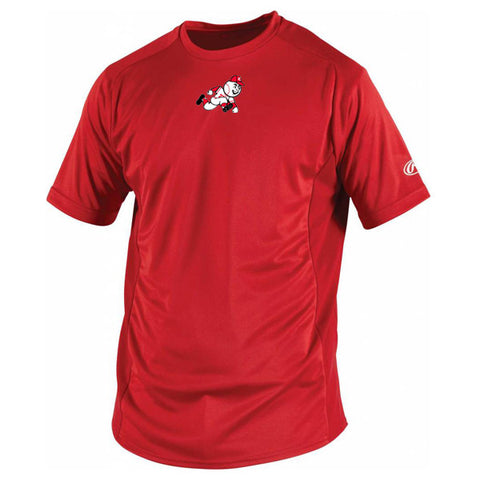Rawlings Short Sleeve Shirt - Red (Coquitlam Reds-PLAYER ONLY MANDATORY)