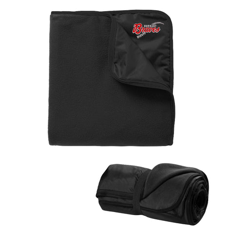 Travel Blanket (Burnaby Minor Baseball)