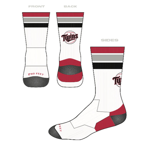 Twins Crew Sock (North Shore Twins)