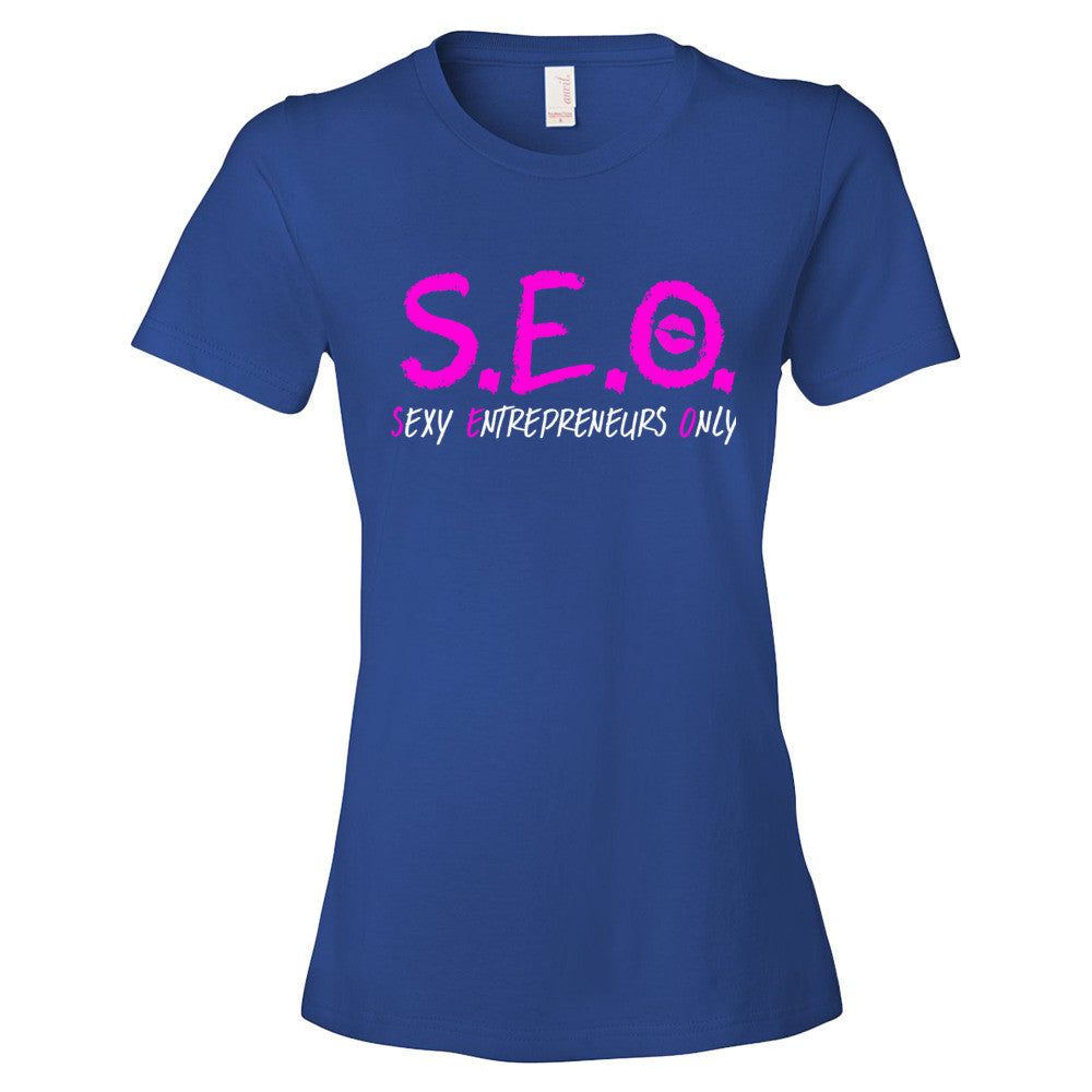 SEO Sexy Entrepreneurs only Women's short sleeve t-shirt - Candied Bacon
