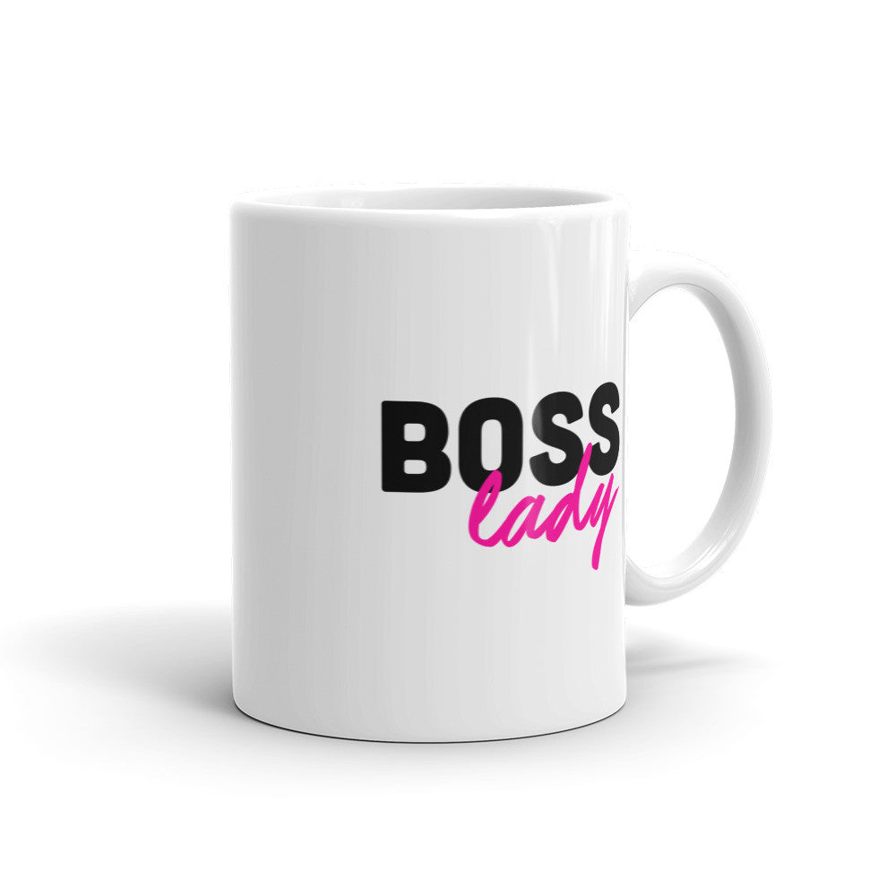 Boss Lady Gift Mug for Entrepreneurs - Candied Bacon