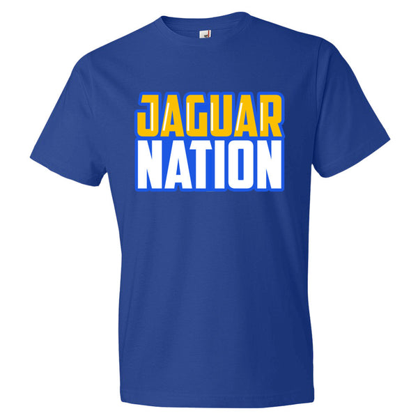 Jaguar Nation Short sleeve t-shirt - Candied Bacon