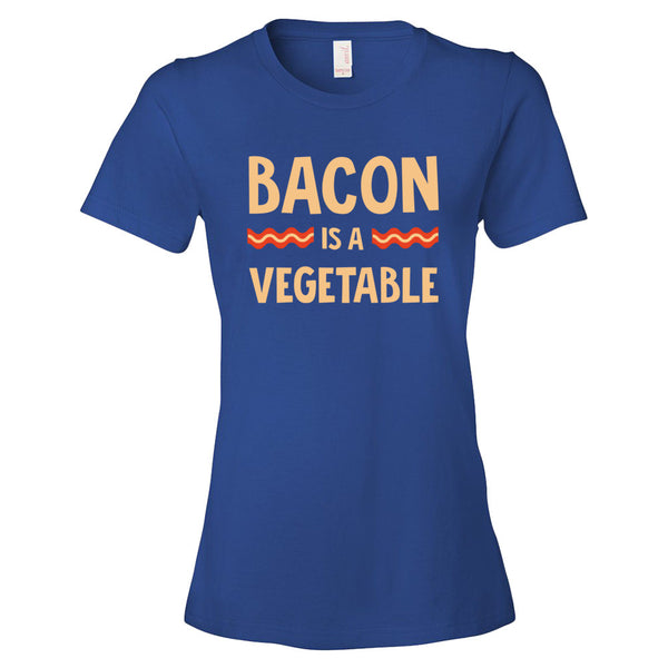 Bacon Lover's Bacon is a Vegetable Women's short sleeve t-shirt - Candied Bacon