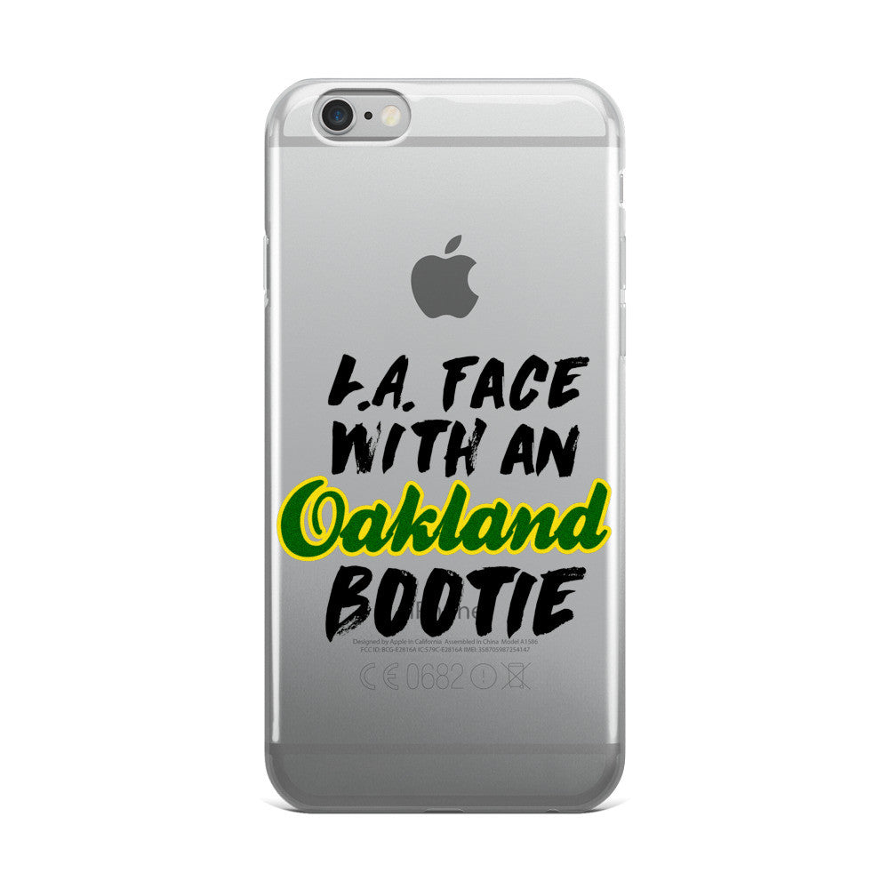 L.A. Face with an Oakland Bootie iPhone case - Candied Bacon