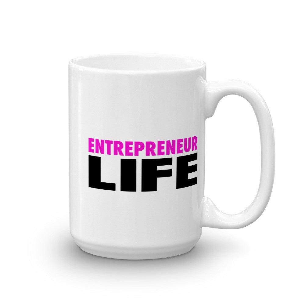 Entrepreneur Life Novelty Gift Mug - Candied Bacon