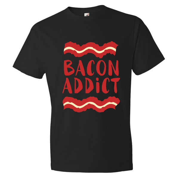 Bacon Addict Short sleeve t-shirt - Candied Bacon
