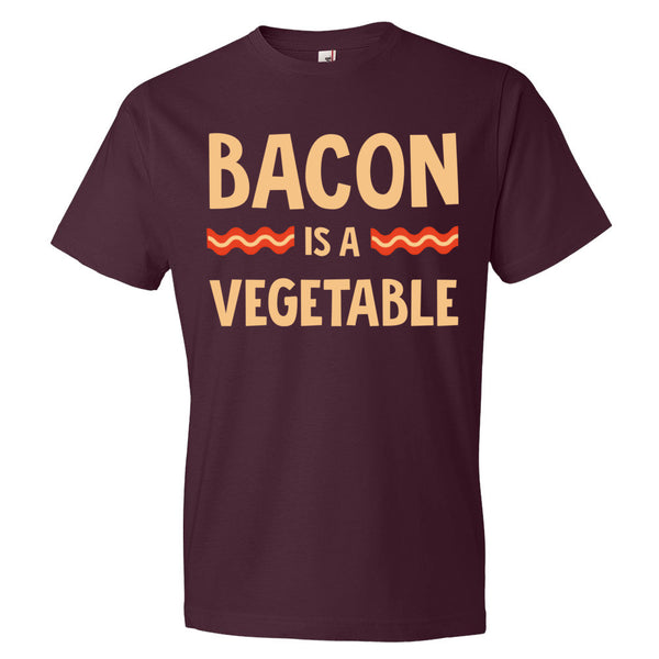 Bacon Lovers Bacon is a Vegetable Tee - Short sleeve t-shirt - Candied Bacon