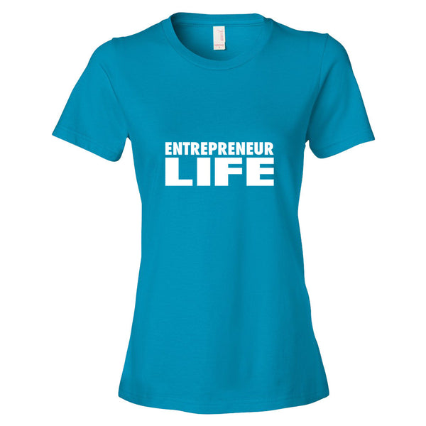 Entrepreneur Life Women's short sleeve t-shirt - Candied Bacon