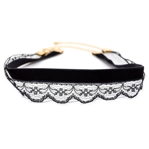 Bewitched Jewels 2 Elegant Lace Velvet Double-Layer Choker