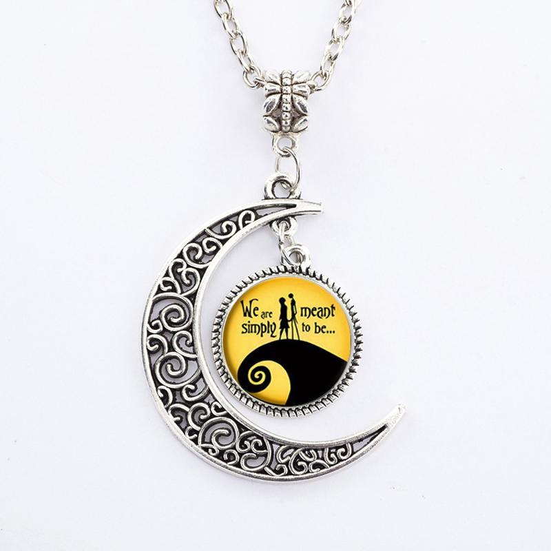 Bewitched Jewels 6 Wiccan Pagan Triple Moon Goddess Necklace