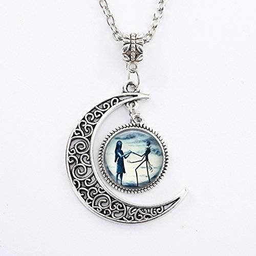 Bewitched Jewels 8 Wiccan Pagan Triple Moon Goddess Necklace