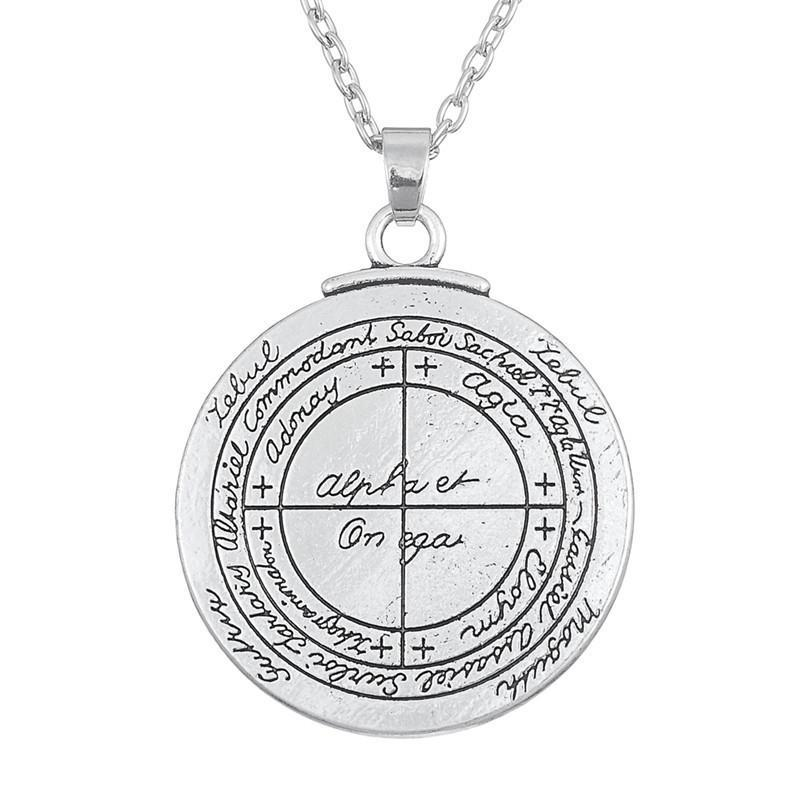 Bewitched Jewels Link Chain Key of Solomon Talisman for Good Luck