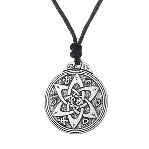 Bewitched Jewels Pentacle Flower Knot For Protection
