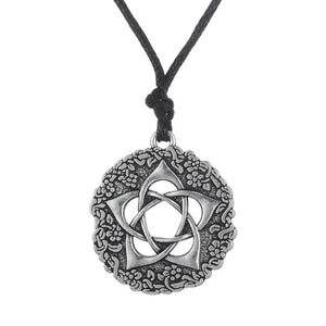 Bewitched Jewels Pentacle Of The Goddess Wiccan Pagan Necklace